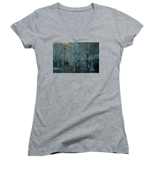 Caddo Lake #3 Women's V-Neck
