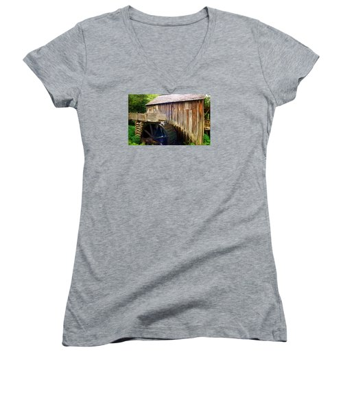 Cade Cove Mill Women's V-Neck
