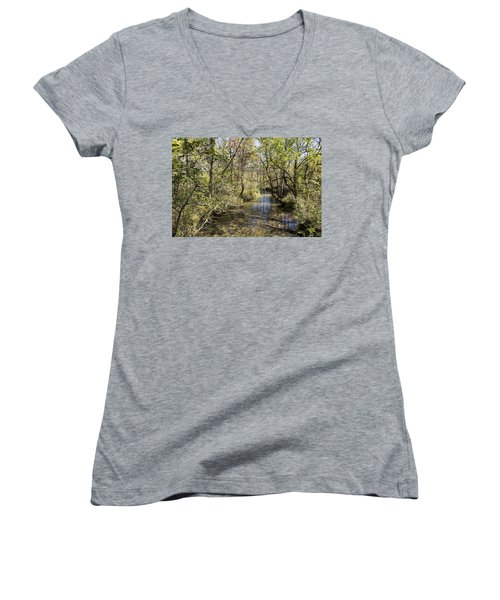 Cades Creek Women's V-Neck T-Shirt