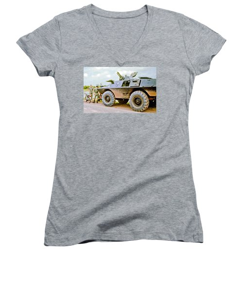 Cadillac Gage Commando Women's V-Neck