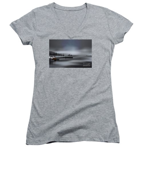 Caledonian Women's V-Neck (Athletic Fit)