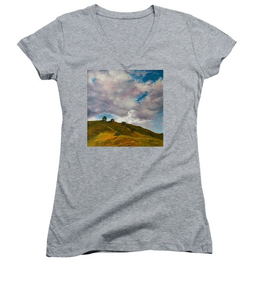 California Hills Women's V-Neck T-Shirt