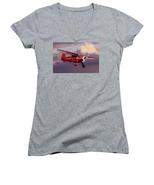 Call Me Howard Women's V-Neck T-Shirt