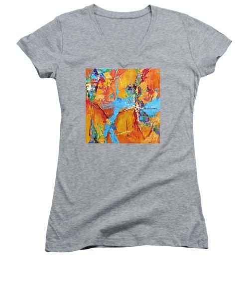 Calling All Angels Women's V-Neck T-Shirt