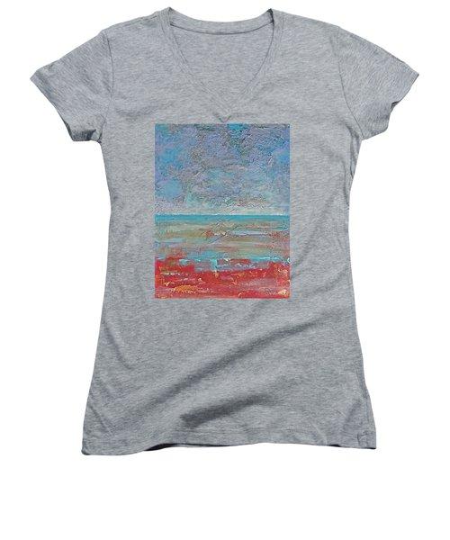 Calm Before The Storm Women's V-Neck T-Shirt