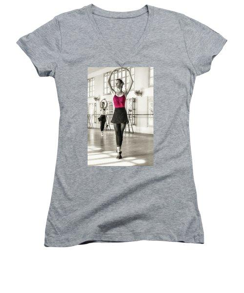 Camaguey Ballet 1 Women's V-Neck