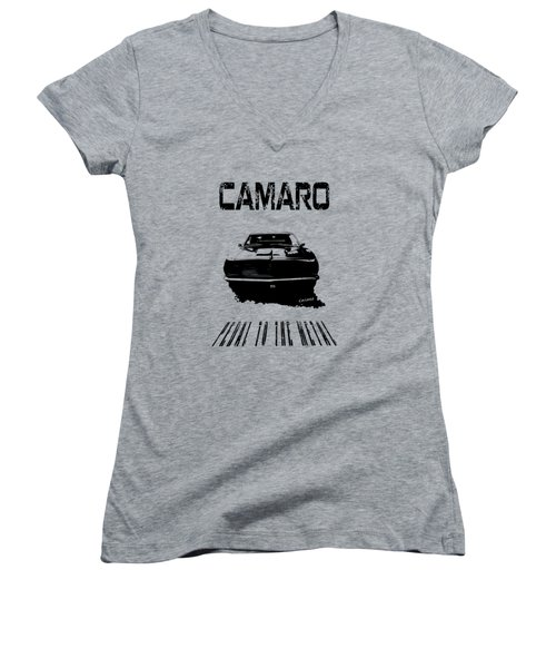 Camaro Ss - Pedal To The Metal Women's V-Neck (Athletic Fit)