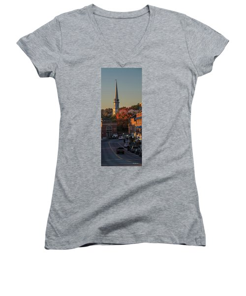 Camden Steeple Women's V-Neck