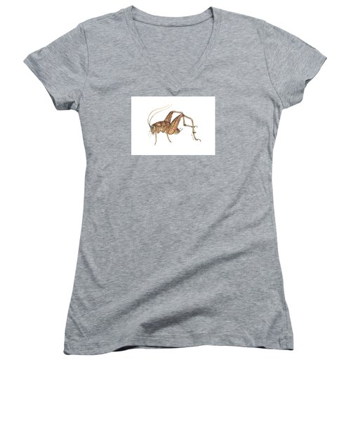 Camel Cricket Women's V-Neck T-Shirt