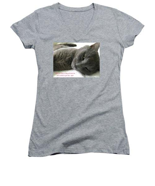 Resting Face Women's V-Neck T-Shirt