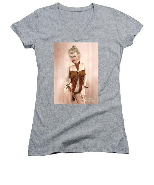 Camille Women's V-Neck T-Shirt