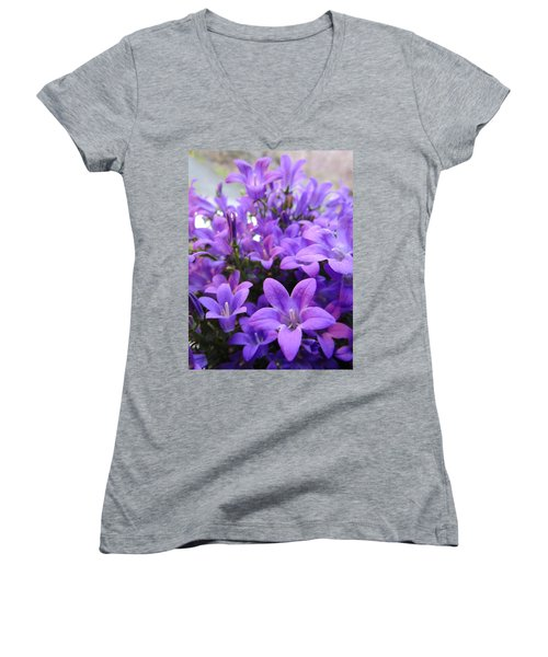 Campanula Women's V-Neck T-Shirt