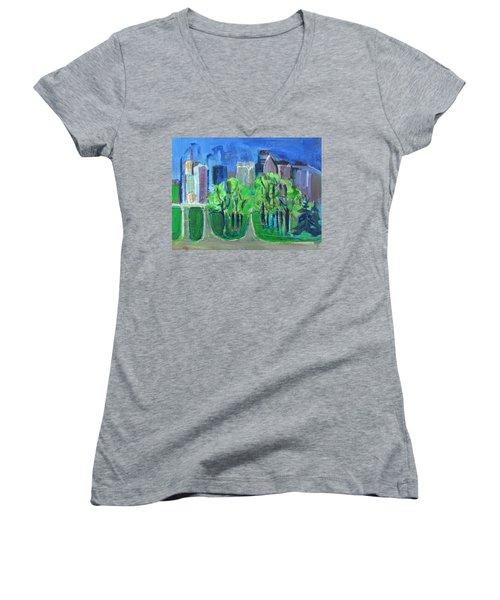 Campus Women's V-Neck T-Shirt (Junior Cut)