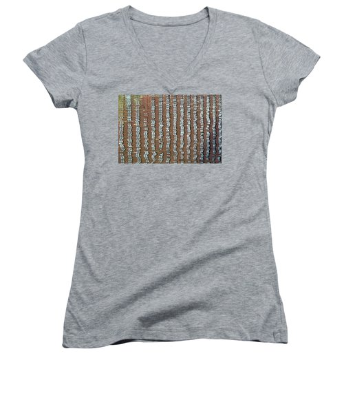 Canal Reflections 4 Women's V-Neck