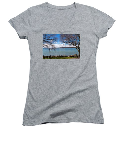 Canandaigua Women's V-Neck T-Shirt