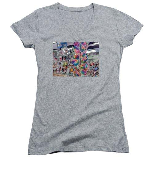 Candy Store Women's V-Neck T-Shirt