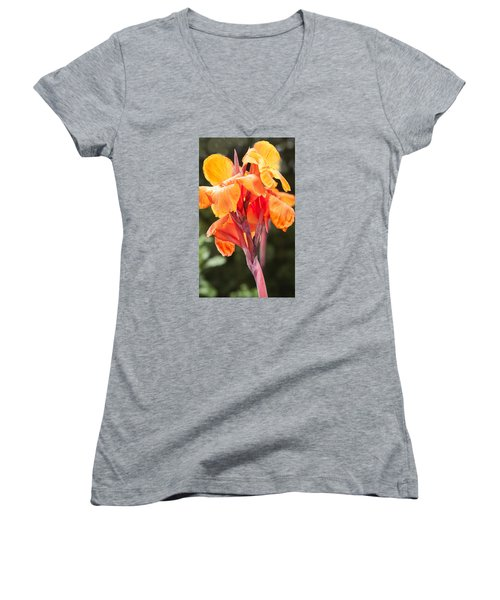 Canna Women's V-Neck (Athletic Fit)