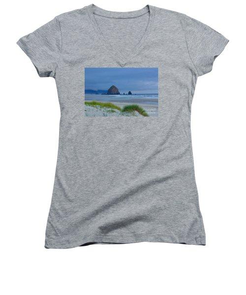 Cannon Beach Women's V-Neck T-Shirt