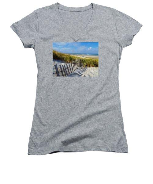 Cape Cod Charm Women's V-Neck T-Shirt