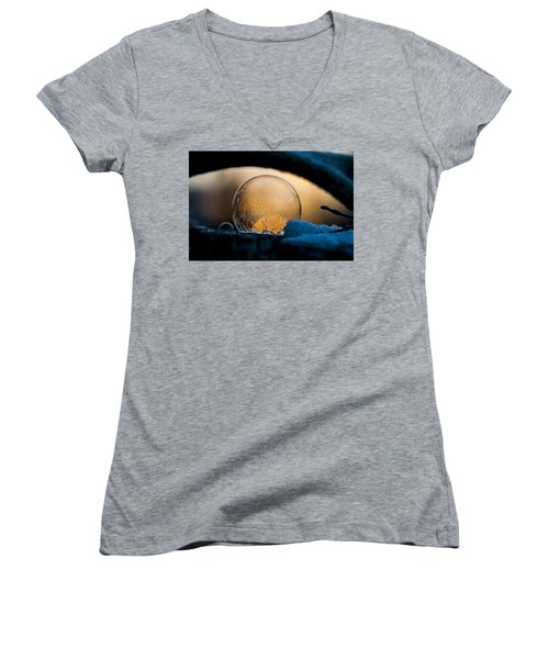Captured Sunrise Women's V-Neck