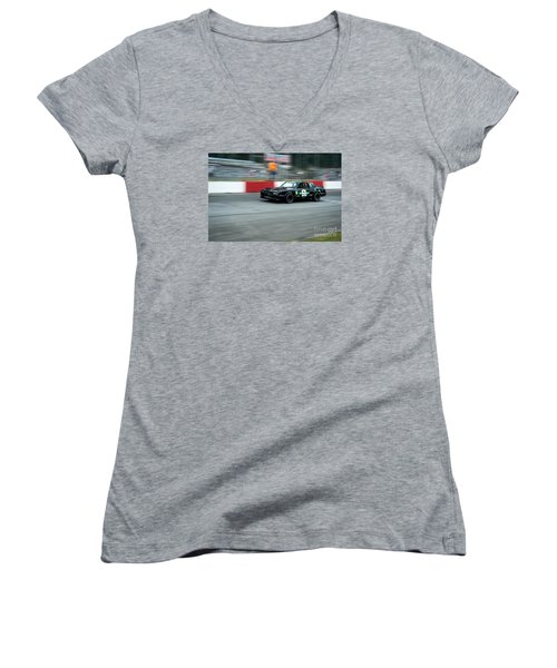 Car 66 Women's V-Neck T-Shirt
