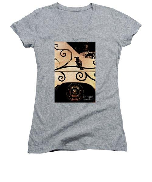 Car Art Women's V-Neck T-Shirt
