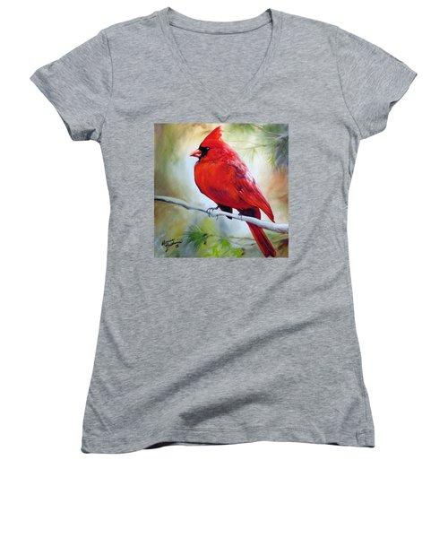 Cardinal 18 Women's V-Neck