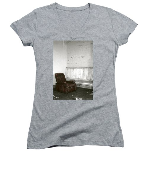 Care To Relax? Women's V-Neck T-Shirt