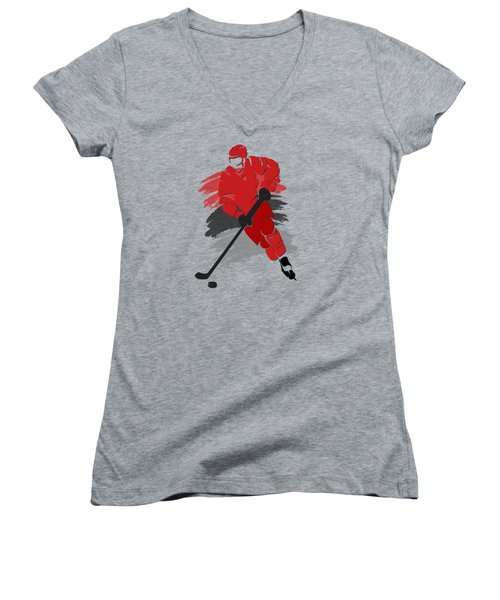 Carolina Hurricanes Player Shirt Women's V-Neck T-Shirt