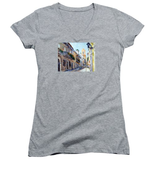 Cartagena Colombia Women's V-Neck T-Shirt