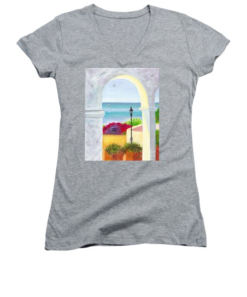 Casa Romantica View Women's V-Neck