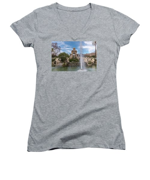 Cascada Monumental Women's V-Neck T-Shirt