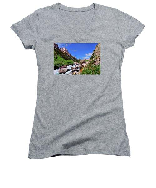 Cascade Canyon Women's V-Neck