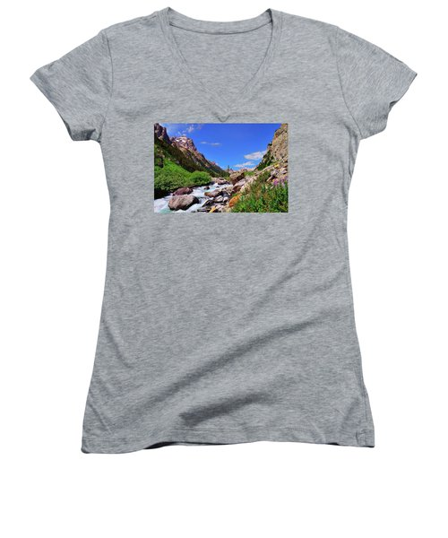 Cascade Canyon Women's V-Neck