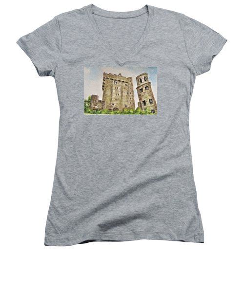 Castle Blarney Women's V-Neck