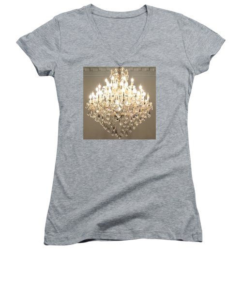 Castle Guest 01 Women's V-Neck