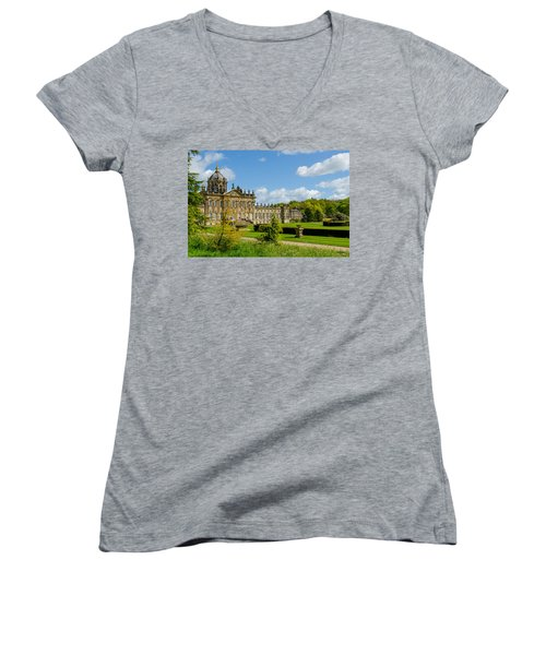 Castle Howard Women's V-Neck T-Shirt