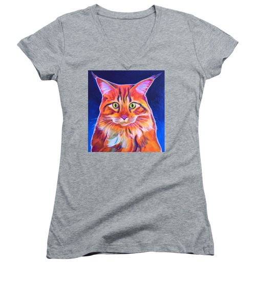 Cat - Cosmo Women's V-Neck T-Shirt