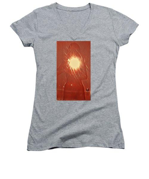 Catching Fire Women's V-Neck T-Shirt