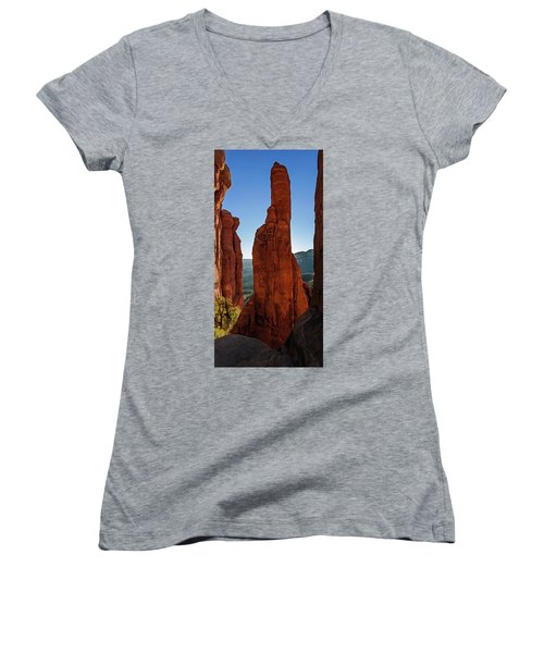 Cathedral 07-056 Women's V-Neck T-Shirt