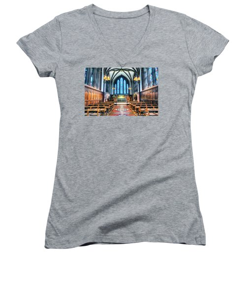 Cathedral Glow Women's V-Neck