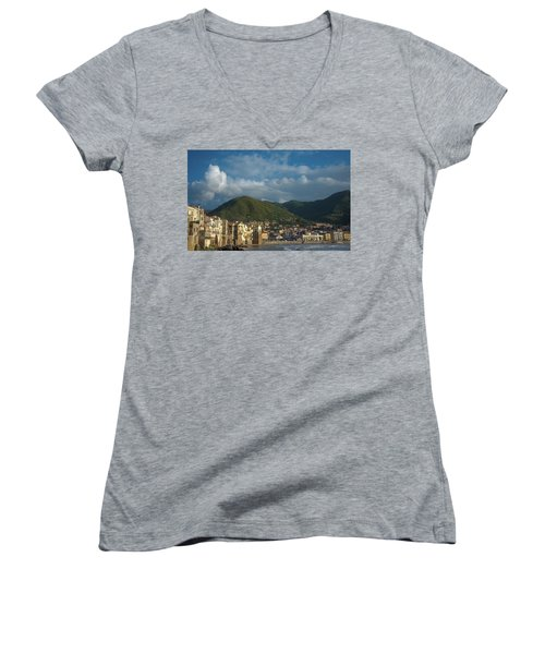 Cefalu  Women's V-Neck T-Shirt