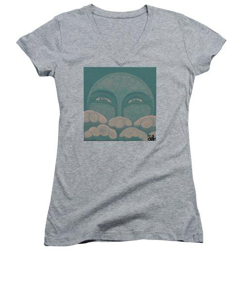 Celestial 2016 #8 Women's V-Neck T-Shirt