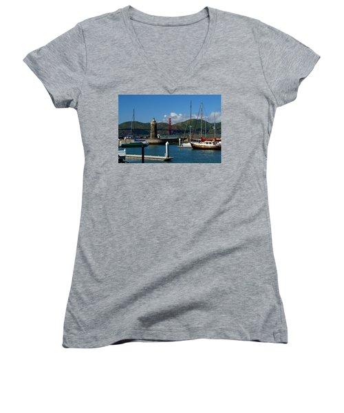 Center Piece Women's V-Neck T-Shirt