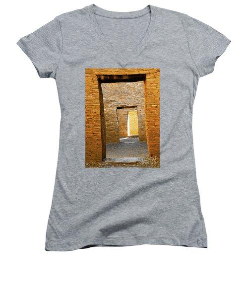 Chaco Canyon Doorways Women's V-Neck T-Shirt