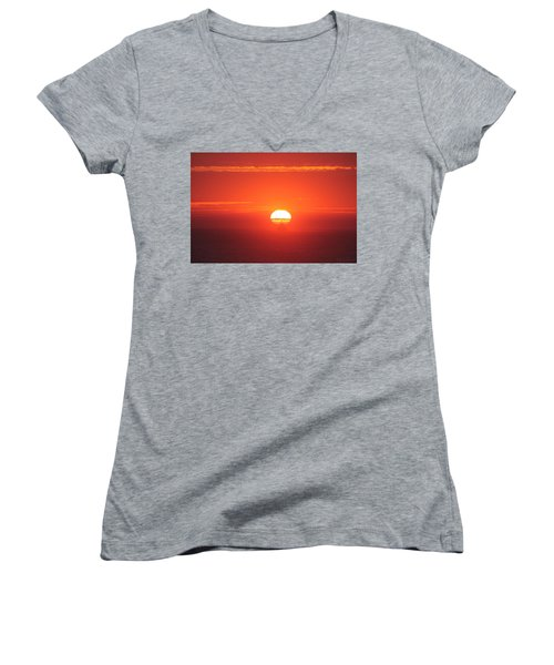 Challenging The Sun Women's V-Neck