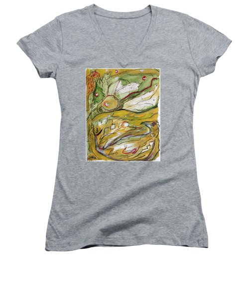 Change Of The Seasons Women's V-Neck
