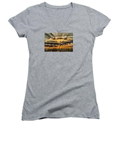 Changes Women's V-Neck T-Shirt