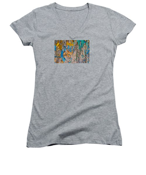 Changes Women's V-Neck T-Shirt (Junior Cut) by Tgchan