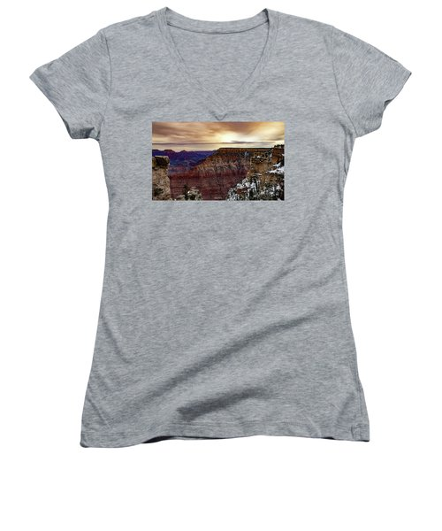 Changing Of The Seasons Women's V-Neck